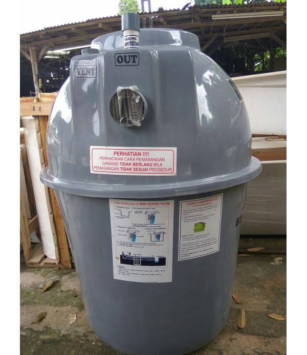 Bio Dipo Septic tank 2000 Liter, Berkuli...