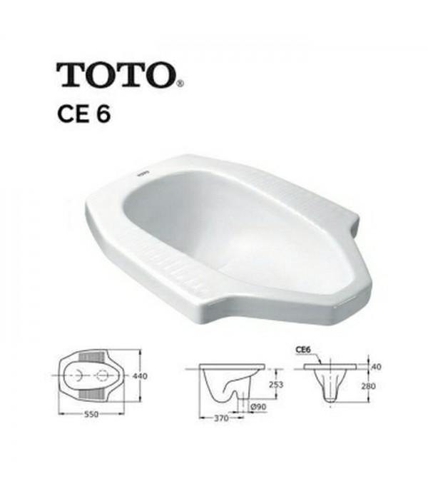 Toto Closet Jongkok CE 6
