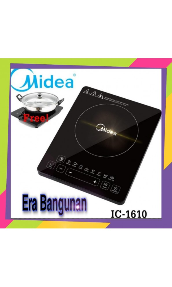 MIDEA Kompor Listrik Induksi  IC 1610 Free Panci