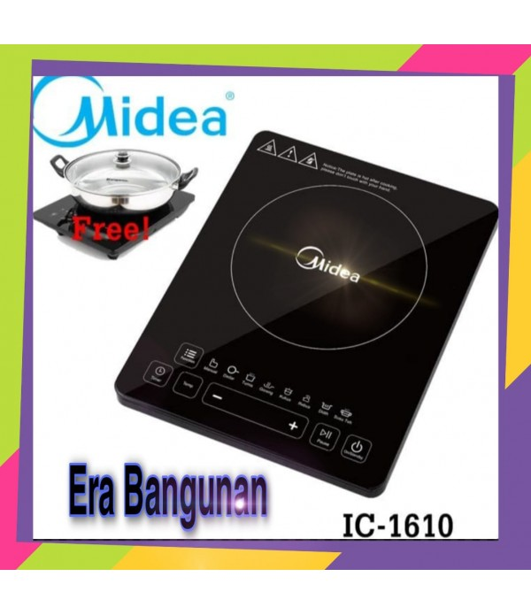 MIDEA Kompor Listrik Induksi  IC 1610 Fr...
