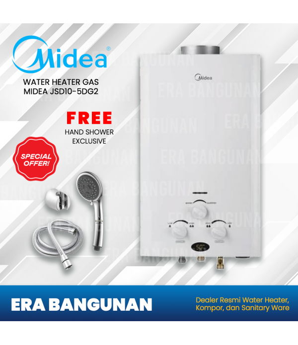 Midea Water Heater Gas JSD10-5DG2