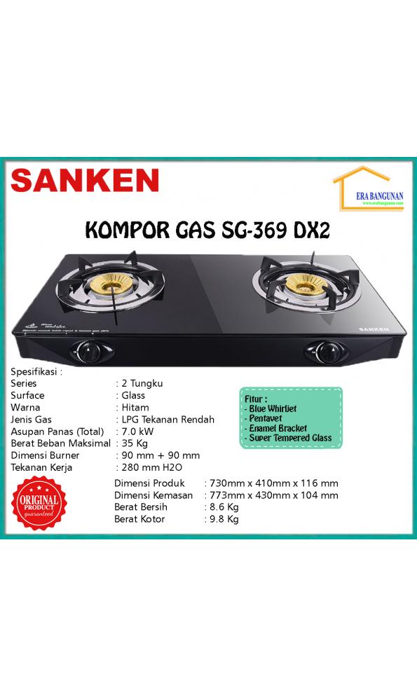 Sanken Kompor Gas SG-369 DX2