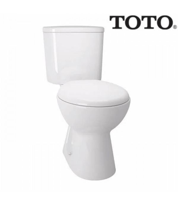 Toto Closet Duduk CW 633 J - Tutup TC 50...